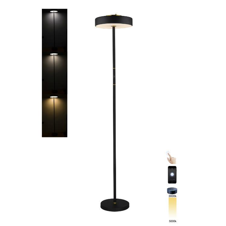 Smart floor lamp LED touch