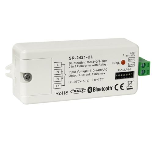 Bluetooth to DALI+0/1-10V 2 in 1 Converter