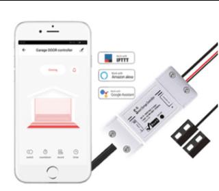 Wi-Fi Smart Garage Door Opener Remote Switch