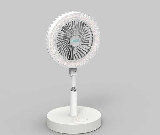 smart portable storage type UV LED anti-virus fan light