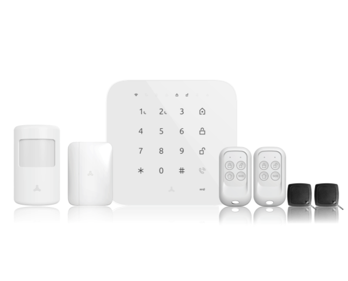 Wi-Fi/4G Security Alarm System with Siren and Battery Backup