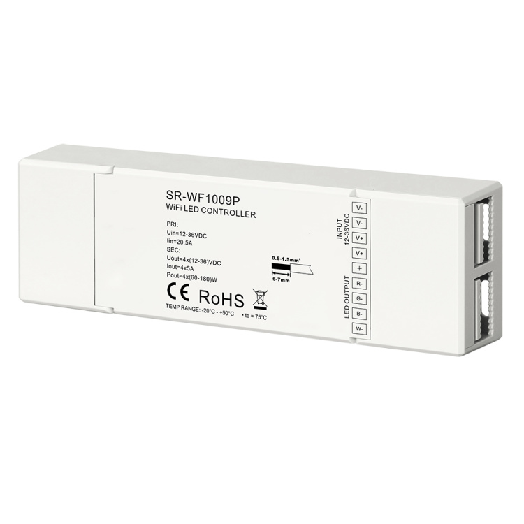 RGBW Wi-Fi LED Controller