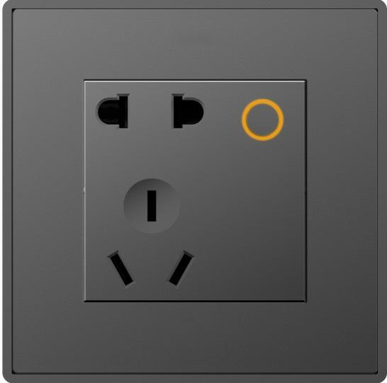 D8  2 pin & 3 pin universal socket (Zigbee) (with 1-relay)
