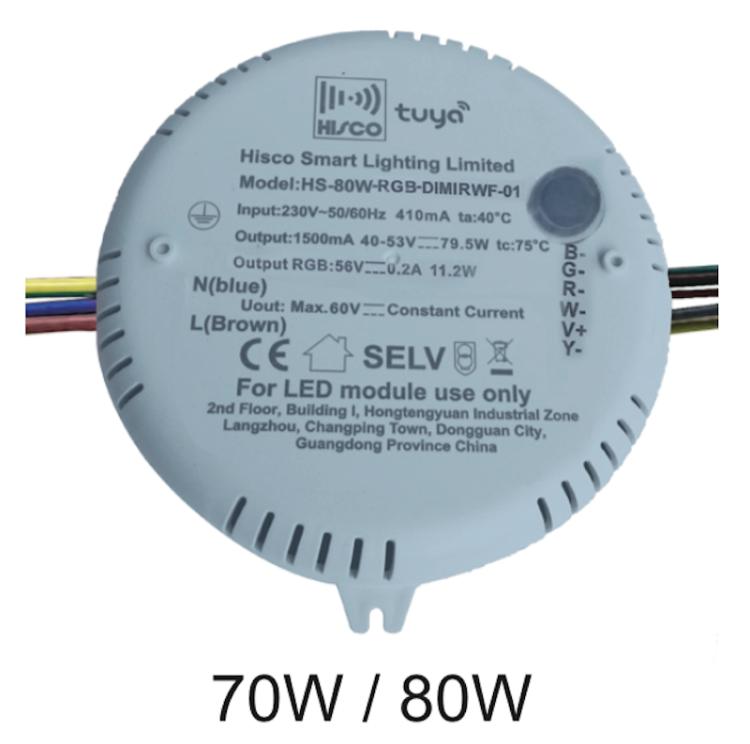 RGBCW IR Lamp