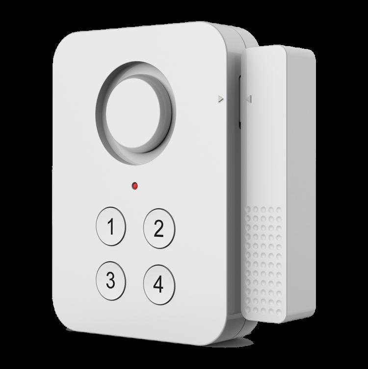 WIFI Door Sensor With Password,App Notification Alert Security Alarm