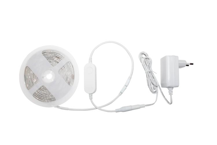 Wi-Fi Smart Strip Light 6.5ft IP44 RGB+CCT