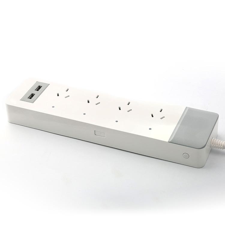 AU Type Smart Power Strip With USB Ports