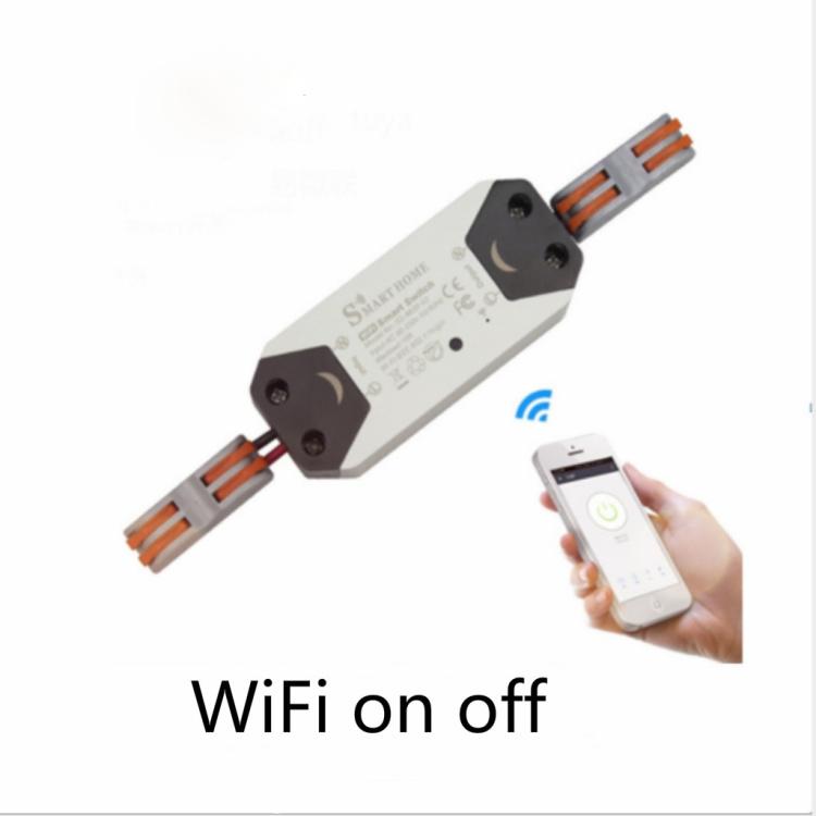 Tuya Wi-Fi Smart Switch Breaker No Wire Need In Wall Work With Amazon Alexa And Google Home