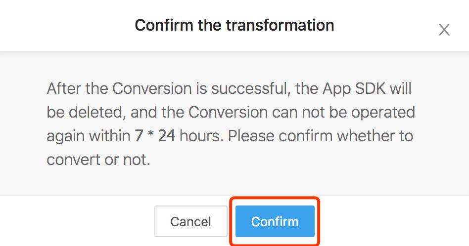 App SDK Creation Instruction