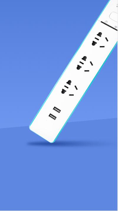Wi-Fi 五路插座