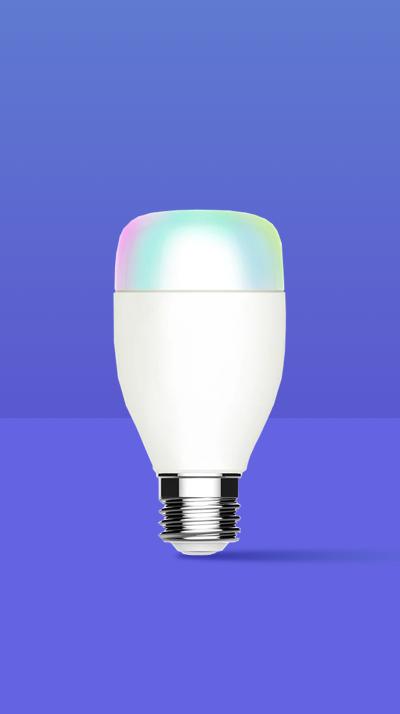 Wi-Fi智能彩色冷暖光球泡灯(RGBCW)