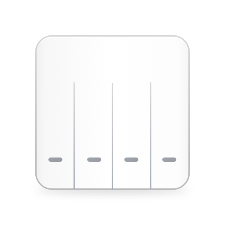 4Gang Wi-Fi Switch